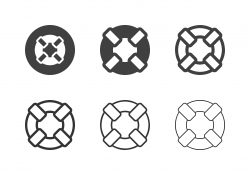 Lifebuoy Icons - Multi Series