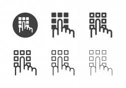 Passcode Icons - Multi Series