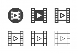 Film Screening Icons - Multi Series