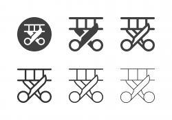 Film Cutting Icons - Multi Series
