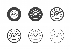 Speedometer Icons - Multi Series