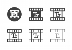 Movie Title and Subtitle Icons - Multi Series
