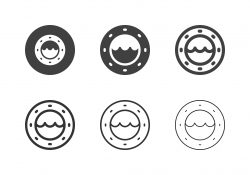 Porthole Icons - Multi Series