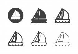 Sailboat Icons - Multi Series