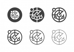 Nautical Radar Icons - Multi Series