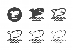 Sea Shark Icons - Multi Series