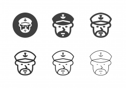 Boat Captain Icons - Multi Series
