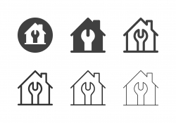 Home Repair Icons - Multi Series