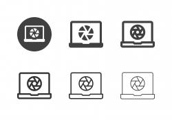 Photo Editor Icons - Multi Series
