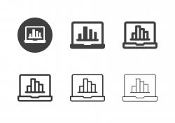 Data Statistics Icons - Multi Series