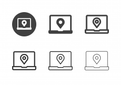 Global Positioning System Icons - Multi Series