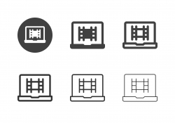 Film Studio Icons - Multi Series