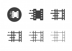 Fast Film Speed Icons - Multi Series