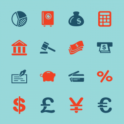 Finance and Banking Icons - Color Series | EPS10