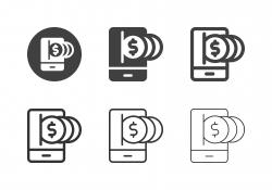 Digital Money Icons - Multi Series