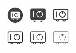 Safe Box Icons - Multi Series