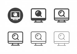Search Engine Icons - Multi Series