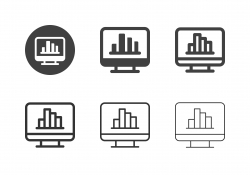 Data Statistics Icons - Multi Series