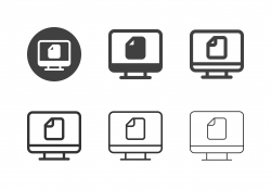 Digital Document Icons - Multi Series
