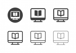 E-Reader Icons - Multi Series