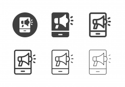 Mobile Marketing Icons - Multi Series