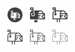 Mailbox Icons - Multi Series