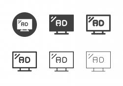 TV Ads Icons - Multi Series