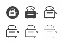 Toaster Icons - Multi Series