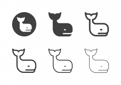 Whale Icons - Multi Series