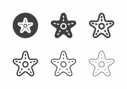 Starfish Icons - Multi Series