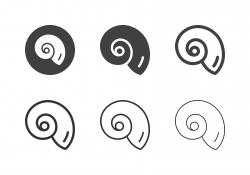 Nautilus Shell Icons - Multi Series
