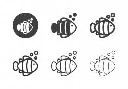 Anemonefish Icons - Multi Series