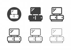 TV Shelf Icons - Multi Series