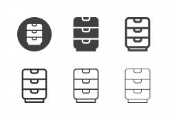 Drawer Icons - Multi Series
