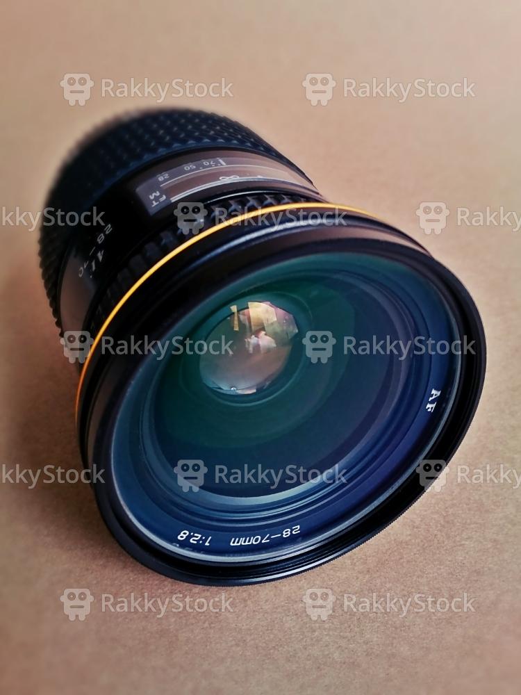 Retro SLR Camera Lens