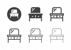 Dressing Table Icons - Multi Series