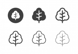 Collard Greens Icons - Multi Series