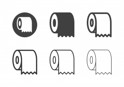 Toilet Paper Icons - Multi Series