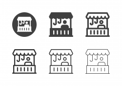 Retail Shop Icons - Multi Series