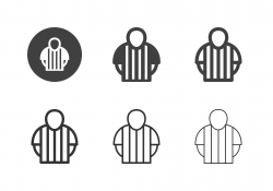 Sport Referee Icons - Multi Series