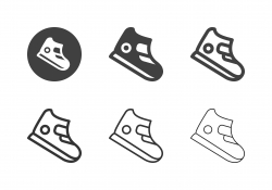 Basketball Shoe Icons - Multi Series