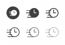 Rush Hour Icons - Multi Series