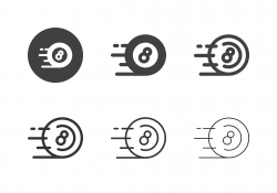 Speed Eight Ball Icons - Multi Series