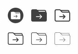 Move Folder Icons - Multi Series