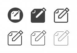 Edit Content Icons - Multi Series
