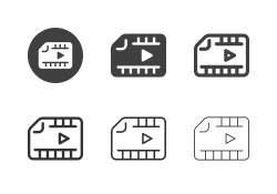 Media Folder Icons - Multi Series