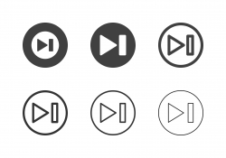 Next Button Icons - Multi Series