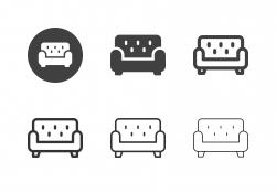 Sofa Icons - Multi Series