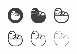 Potato Bowl Icons - Multi Series