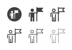 Successful Businessman Icons - Multi Series